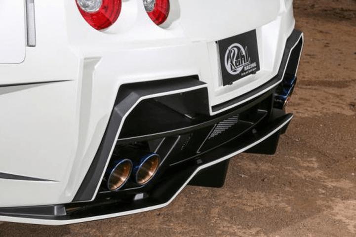 R35 GT-R 外装 エアロパーツ リアディフューザー Kuhl Racing(クールレーシング) GTリヤバンパーダクトディフューザー
