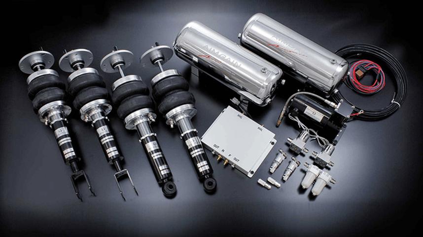 R35 GT-R サスペンション サスペンションキット サスペンションキット BOLD WORLD エアサスペンション AIMGAINバージョン