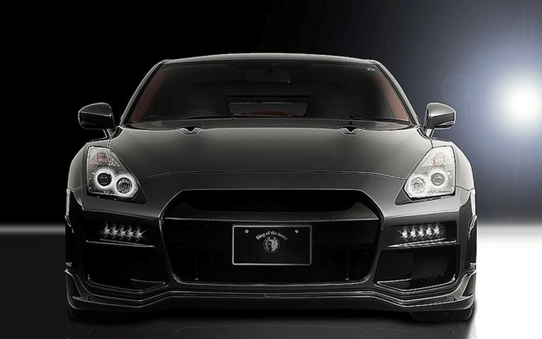 R35 GT-R 外装 エアロパーツ フロントバンパー ROWEN(ロェン) フロントスタイルKit VerⅡ(カーボン+FRP)