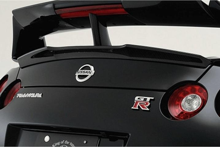 R35 GT-R 外装 エアロパーツ リアスポイラー/ウイング ROWEN(ロェン) トランクスポイラー(カーボン)
