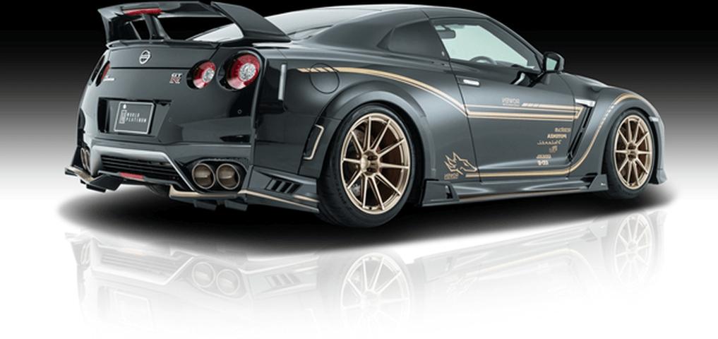 R35 GT-R 外装 エアロパーツ リアスポイラー/ウイング ROWEN(ロェン) トランクスポイラーVer.Ⅱ(カーボン)