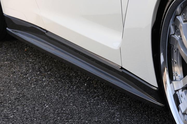 R35 GT-R 外装 エアロパーツ サイドステップ VeilSide サイドスカート(カーボン+FRP)