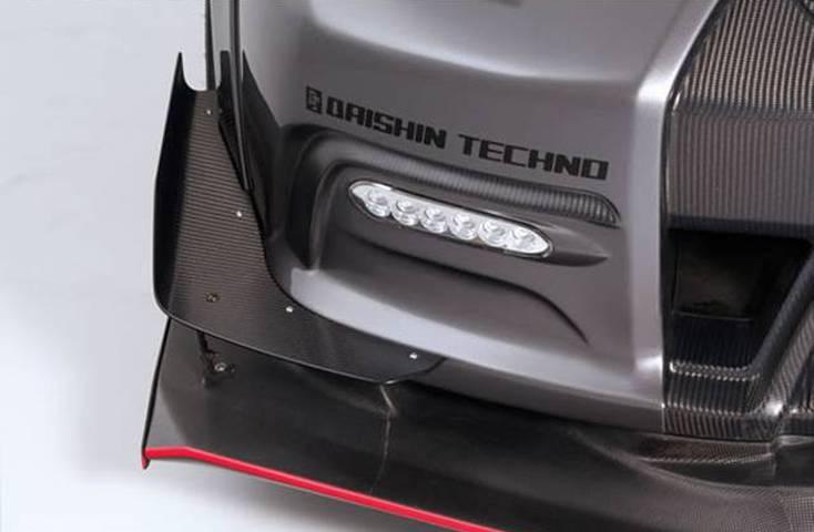 R35 GT-R 外装 エアロパーツ カナード VARIS(バリス) ビッグカナード