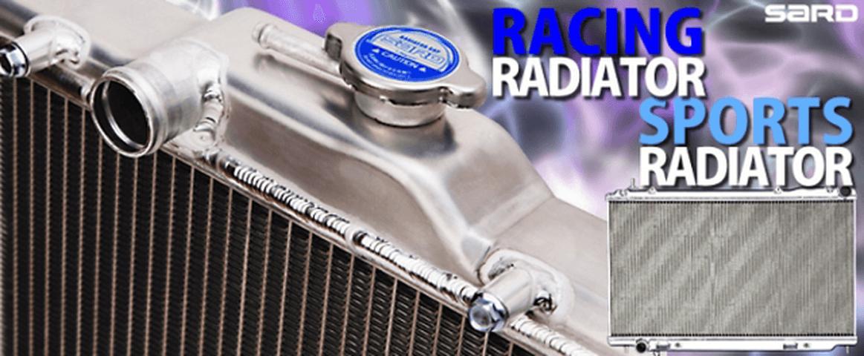 RX-8 冷却系 ラジエター ラジエター本体 SARD レーシングラジエター