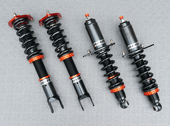 RX-8 サスペンション サスペンションキット 車高調 Odula 蹴脚レーシング(F18kg/mm,R14kg/mm)