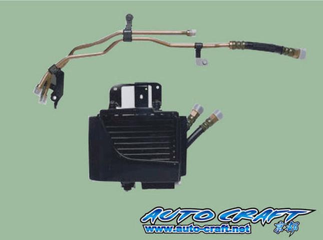 RX-8 冷却系 オイルクーラー オイルクーラー本体 オートクラフト 追加オイルクーラーキット
