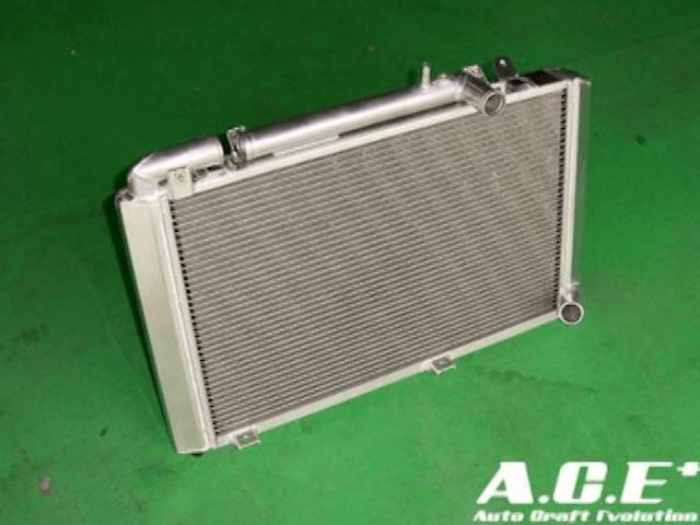 RX-8 冷却系 ラジエター ラジエター本体 オートクラフト サイドタンク式フルアルミラジエータ