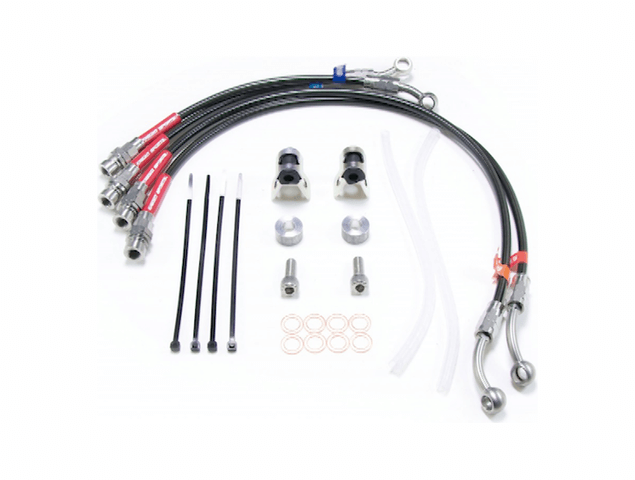 RX-8 ブレーキ ブレーキその他 その他 KNIGHT SPORTS RACING BRAKE LINE FOR RX-8