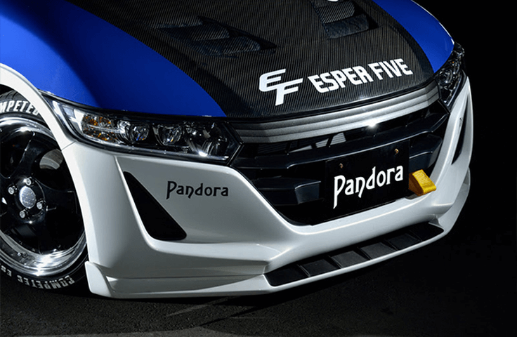 S660  外装 エアロパーツ フロントリップスポイラー PANDORA フロントアンダースポイラー