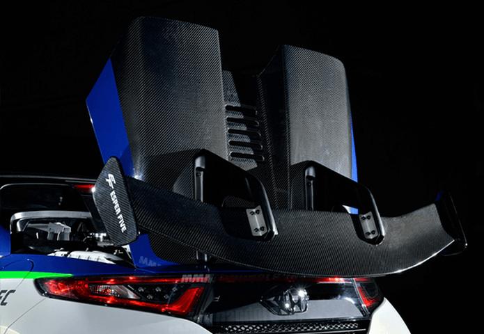 S660  外装 エアロパーツ ボンネット PANDORA エンジンフード