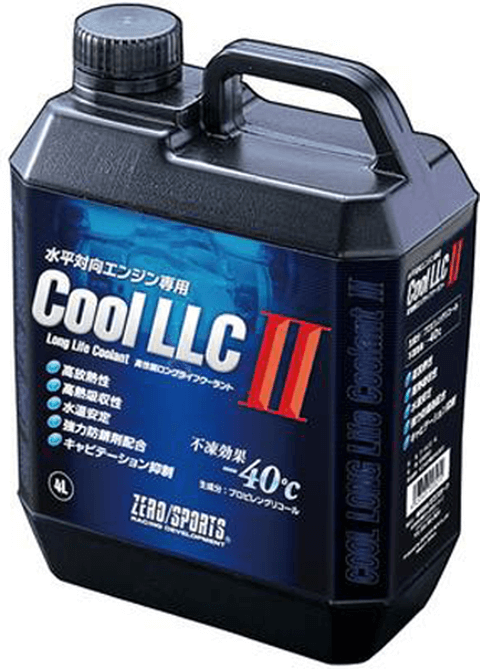 WRX VA STI/S4 冷却系 クーラント クーラント本体 ZERO SPORTS クールLLC II 4Lボトル