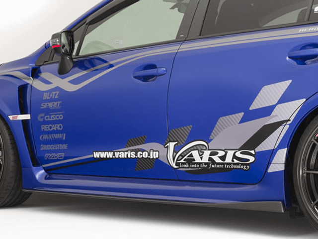 WRX VA STI/S4 外装 エアロパーツ サイドステップ VARIS(バリス) SIDE UNDER BOADS