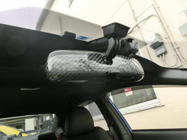 WRX VA STI/S4 内装 内装その他 その他 YR-Advance カーボンルームミラーカバー