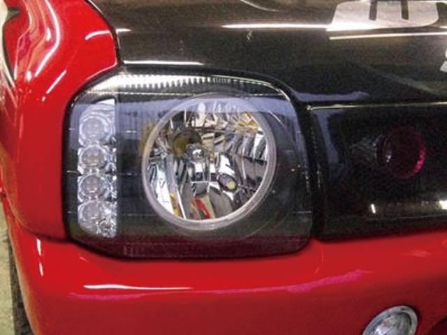 JB23 ジムニー 外装 ライト ヘッドライト ハイブリッジファースト イカリング/LEDウインカーヘッドライト