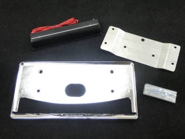 JB23 ジムニー 外装 外装その他 その他 ハイブリッジファースト LEDナンバー灯 HB1stナンバー移動キット3