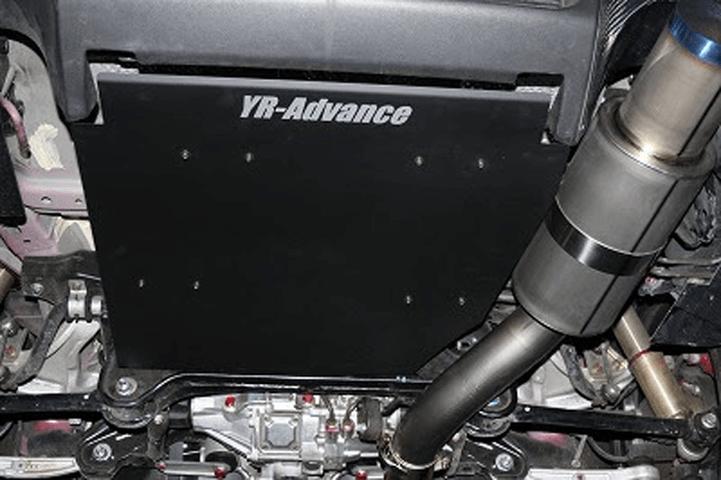 ランサーエボ 10 外装 エアロパーツ リアアンダースポイラー YR-Advance リヤアンダーパネル