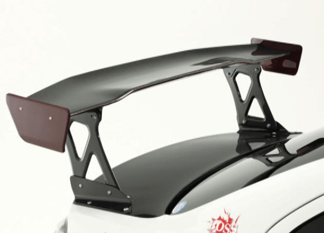 ランサーエボ 10 外装 エアロパーツ リアスポイラー/ウイング VARIS(バリス) GT-WING~for street