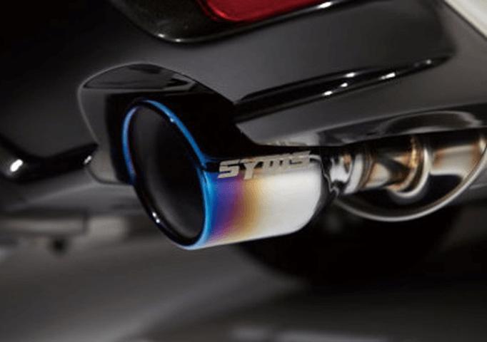 レヴォーグ 排気系 マフラー マフラー本体 Syms Racing(シムスレーシング) SYMS REAR MUFFLER