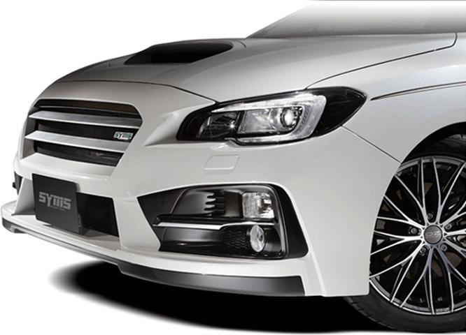レヴォーグ 外装 エアロパーツ フロントバンパー Syms Racing(シムスレーシング) フロントバンパー