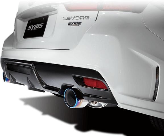 レヴォーグ 外装 エアロパーツ リアバンパー Syms Racing(シムスレーシング) リアバンパー