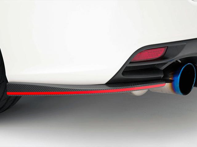 レヴォーグ 外装 エアロパーツ リアアンダースポイラー VARIS(バリス) リアアンダーフリッパーカーボン