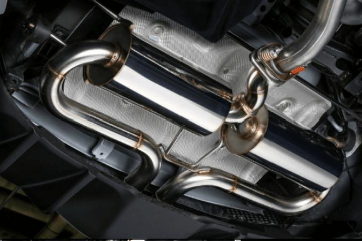 ND ロードスター 排気系 マフラー マフラー本体 Kuhl Racing(クールレーシング) SLASH 2TAIL MUFFLER ver.2