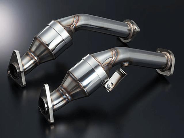 Z34 フェアレディZ 排気系 触媒 触媒本体 garage力 オリジナルメタルキャタライザー(触媒)