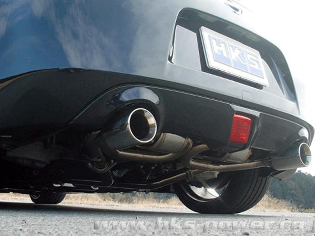 Z34 フェアレディZ 排気系 マフラー マフラー本体 HKS スーパーサウンドマスターSA浜松spec