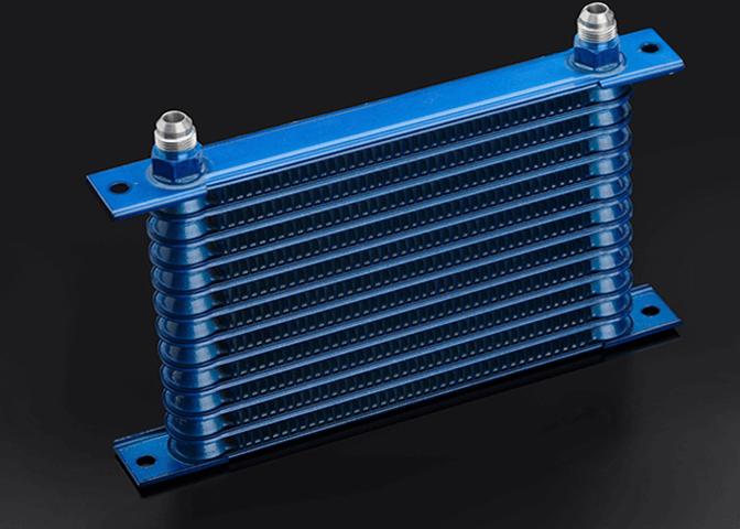 Z34 フェアレディZ 冷却系 オイルクーラー オイルクーラー本体 トラスト 13段+FC3S純正ツインオイルクーラー