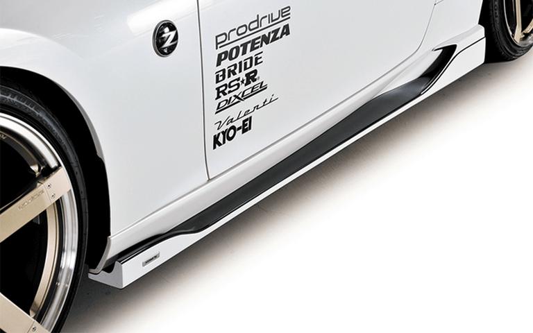 Z34 フェアレディZ 外装 エアロパーツ サイドステップ ROWEN(ロェン) Side Step