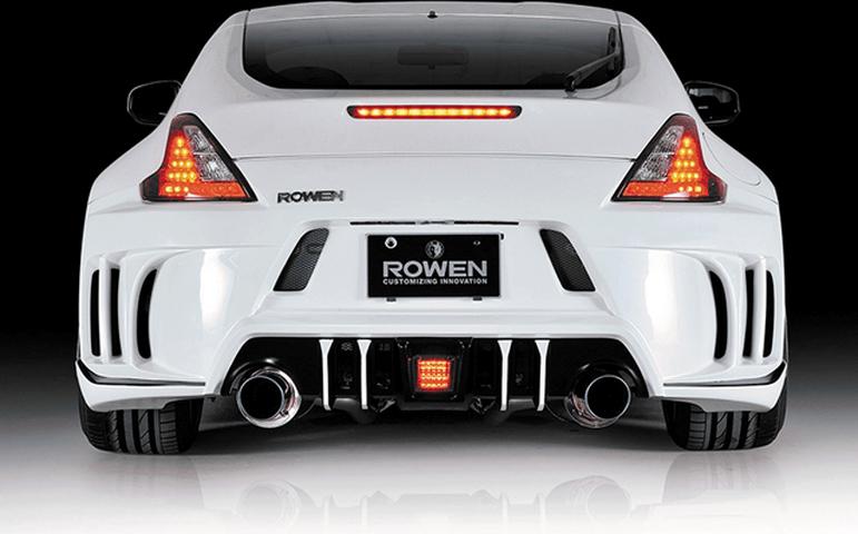 Z34 フェアレディZ 外装 ライト フォグランプ ROWEN(ロェン) LEDバックフォグ