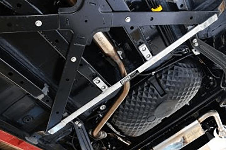 コペン LA400K ボディー/シャシー その他各種補強 ロワアームバー TAKE OFF フロアサポートバー