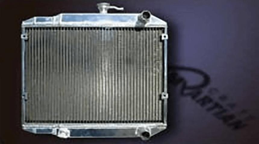 コペン L880 冷却系 ラジエター ラジエター本体 Martian Crate アルミ三層ラジエータ