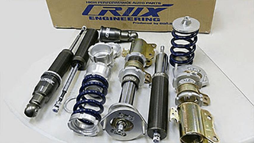 コペン LA400K サスペンション サスペンションキット サスペンションキット も。ファク LA400K用 も。足 減衰力前後30段調整 全長調整式(CRUX車高調)