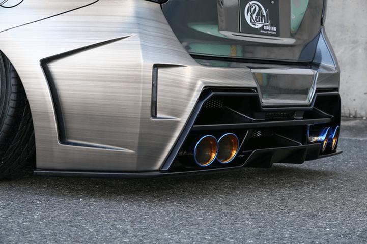 プリウスアルファ α 外装 エアロパーツ リアディフューザー Kuhl Racing(クールレーシング) Ver.2 エアロ リアフローティングディフューザー