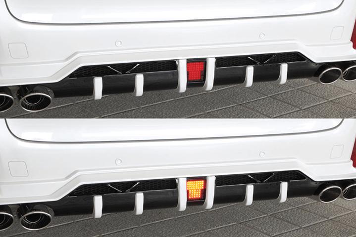 30 アルファード 外装 ライト フォグランプ M'z SPEED LEDバックフォグランプキット