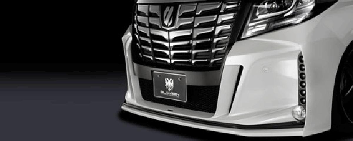 30 アルファード 外装 エアロパーツ フロントバンパー K-SPEC(ケースペック) フロントバンパー[LED付]
