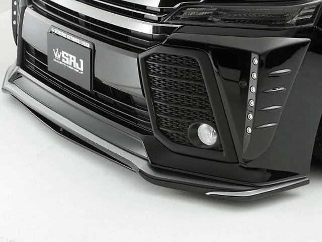 30 ヴェルファイア 外装 エアロパーツ フロントリップスポイラー シックスセンス フロントリップスポイラーVer2