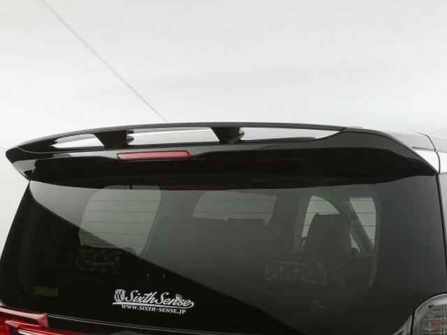 30 ヴェルファイア 外装 エアロパーツ リアスポイラー/ウイング シックスセンス リアウイング