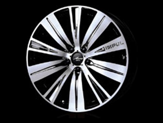Z51ムラーノ カスタム アルミホイール 社外 impul インパル SX20 アウラ