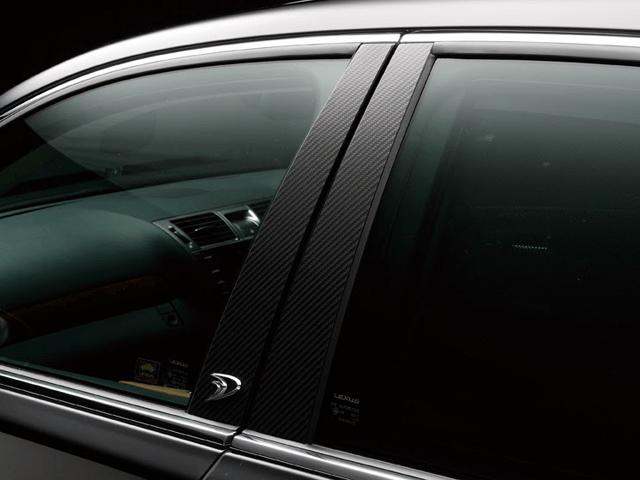 LEXUS RX 10/15W 外装 外装その他 その他 WALD Carbon Piller Panel