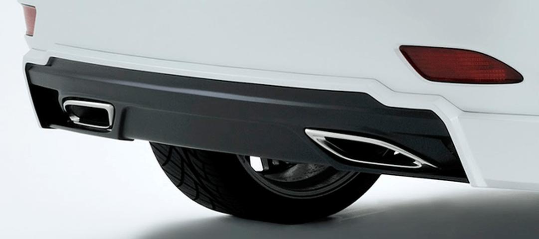 LEXUS RX 10/15W 排気系 マフラー マフラー本体 ARTISAN SPIRITS Z's SPORTS DUAL 左右ディフューザータイプ REAR PIECE MUFFLER(450h専用)