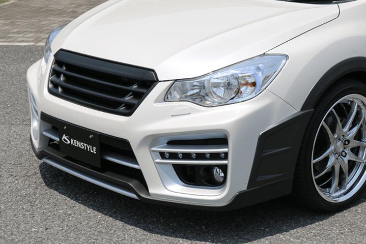 インプレッサ XV GP 外装 エアロパーツ フロントバンパー ケンスタイル フロントバンパースポイラー