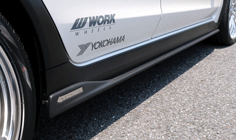 インプレッサ XV GP 外装 エアロパーツ サイドステップ ケンスタイル サイドスカート