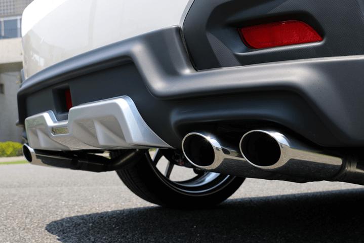インプレッサ XV GP 排気系 マフラー マフラー本体 ケンスタイル KENSTYLE4本出しマフラー