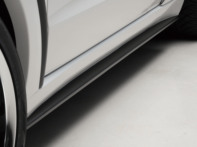 BENZ M W166 外装 エアロパーツ サイドステップ WALD Side Step