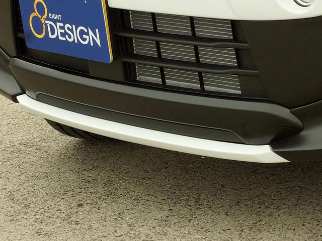 ハスラー 外装 エアロパーツ フロントリップスポイラー エイトデザイン フロントセンタースポイラー
