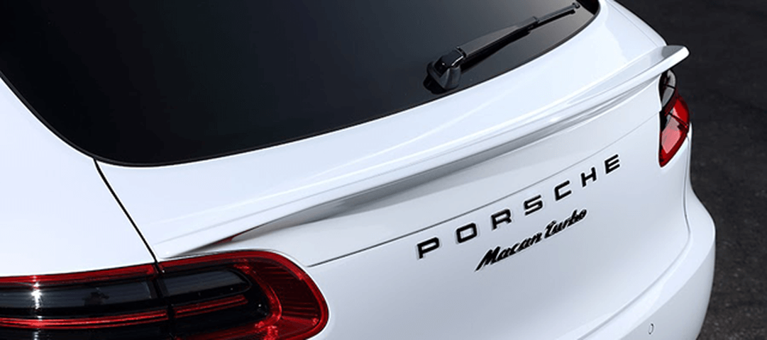 Porsche Macan ポルシェ マカン 95B 外装 エアロパーツ リアゲートスポイラー