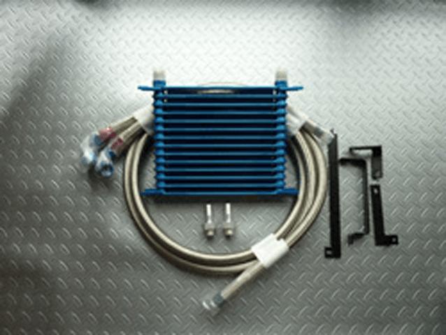 FD3S RX-7 冷却系 オイルクーラー オイルクーラー本体 LEG MOTOR SPORT オイルクーラー