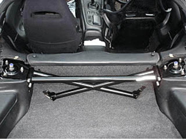 FD3S RX-7 ボディー/シャシー その他各種補強 室内フロアバー LEG MOTOR SPORT スーパーまんじバー